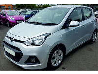 HYUNDAI i10 1.2 PETROL 5 DOOR 2014 31,000 MILES MANUAL SILVER