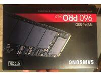 Samsung 512 GB NVMe SSD 960 Pro M.2