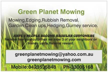 Green planet mowing Ashgrove Brisbane North West Preview