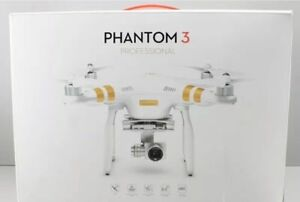 2X DJI PHANTOM 3 PROFESSIONAL WITH 4K CAMERA AND BATTERY BUNDLE