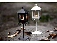 50 x Brand New Vintage Street Lamp Tea Light Candle Holders - Garden / Wedding / Event