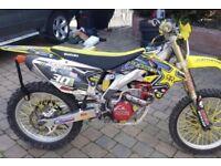 Rmz 450 2012 efi *bargain* not sxf crf kxf yzf