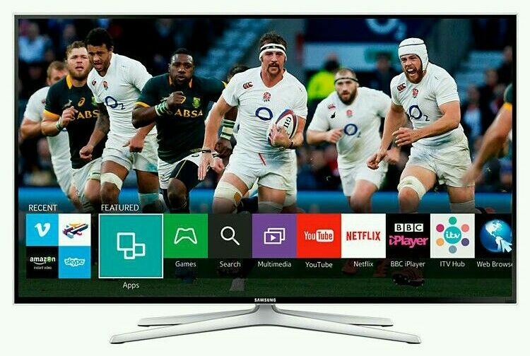 "Samsung 48"" LED smart 3D wi-fi tv builtin USB media player HD freeview fullhd 1080p"