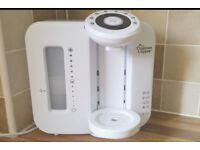 Tommee Tippee Perfect Prep Machine clean with clean piping