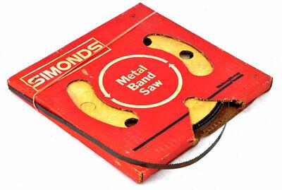 Simonds 5764 38 8-tooth Bandsaw Tool Hard Edge Metal Band Saw Blade Coil