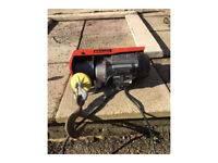 Electric Ferm 125kg 250kg winch in working order. Hardly used.