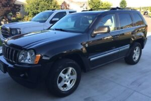 2007 Jeep Grand Cherokee LIMITED SUV 4x4  SAFETIED!!