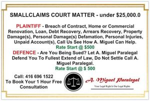 ILLEGAL CHARGE - UNFAIR PRACTICES CALL 416 696 1522