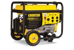 New Champion 3000W Gas Generator (STILL IN BOX) SAVE %25