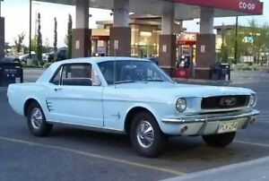 1966 Ford Mustang Baby Blue