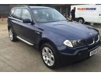 BMW X3 SPORT 2004 BLUE FULL SERVICE HISTORY REDUCED FOR QUICK SALE