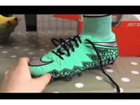 Nike Hypervenom turquoise excellent condition) bought for £140 4 months ago selling for £60 size 11