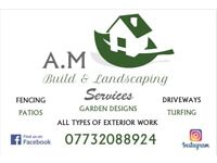 AM Build & Landscaping Services We Cover All Surrounding Areas