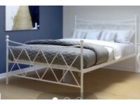 Stylish Double Bed and Mattress