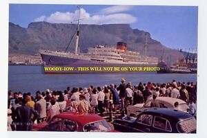rp220 - Union Castle Liner - Athlone Castle at Cape Town - photo 6x4