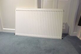 FREE SINGLE PANEL RADIATOR 1000 X 600 mm - DeLonghi - excellent condition