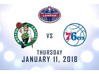 *Lower Tier* NBA London Tickets O2 Arena 2018
