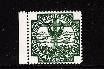 49140/ Reklamemarke - Österreichisches Schwarzes Kreuz