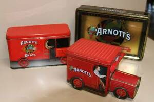 Arnott's Biscuit Tins (3) Rochedale South Brisbane South East Preview