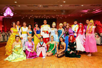 Hiring Princess Entertainers for children's birthday parties!
