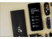 Samsung S8 64GB midnight black BRAND NEW