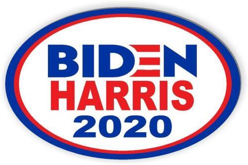 BIDEN HARRIS 2020 Car magnet for President 2020 Magnetic Bumper Sticker oval