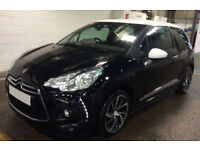 Citroen DS3 CITROEN DS3 DSTYLE DSPORT PLUS DSIGN Nav FROM £41 PER WEEK!
