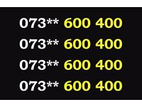 073** 600 400 Gold Vodafone Mobile Phone Number Sim Card