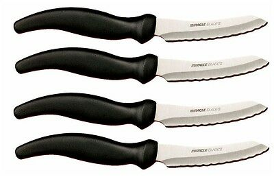- MIRACLE BLADE FOUR STEAK KNIVES (4 steak knives)!!  Super Sale!! BEST DEAL!!!!