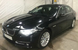 Black BMW 520 2.0TD d Auto 2015 Luxury FROM £67 PER WEEK!