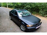 LHD BMW 320D with only 98 000 Km (53+k miles) MATT BLACK Wrapped