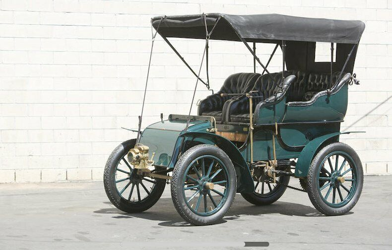 1904 Knox 16/18 Tudor Touring  Known History Since New