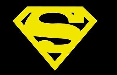 Superman Logo DC Action comics supergirl Decal Sticker laptop i phone pad](Superman Logo Stickers)