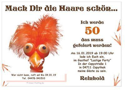 skarten lustig schön Wunsch-Alter Text 18 20 30 40 50 60 70  (40 Geburtstag Einladungen)