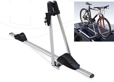 Portabicicletas Asso Aluminio de Techo Soporte para Bicicleta Bloqueable