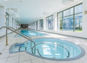 Beautiful Apartment in Downtown Vancouver (Coal Harbor) w/ Pool
