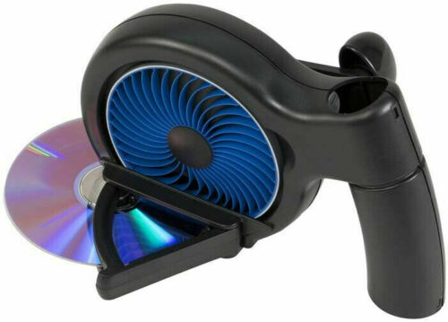 DVD CD Manual Disc Repair Machine Kit Disk Scratch Remover Skipping Cleaner Fix