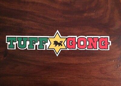 Bob Marley Sticker - Tuff Gong