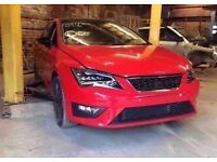 2015 65 PLATE RED MK3 SEAT LEON FR 1.4 TSI BREAKING FOR PARTS