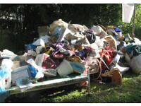 RUBBISH WASTE REMOVAL SAME DAY SERVICE JUNK TIP RUNS HOUSE CLEARANCES COLLECTION CHEAP BINS