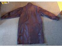 Leather Jacket - ladies size 14