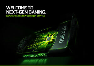 NVIDIA GeForce GTX 960 2GB DDR5 London Ontario image 2