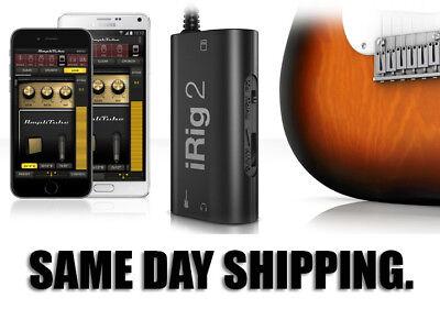 IK Multimedia iRig 2 Guitar to Mobile Recording Interface. Plus 1 Million sold.