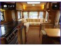 luxury europa tournig caravan