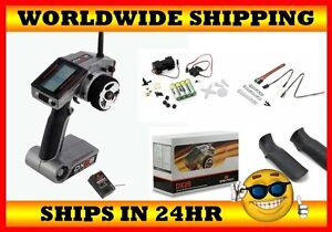 Spektrum-DX2S-DSM-2-4GHZ-2Ch-Radio-SR3300T-Receiver-w-Sensor-kit-SPM2121