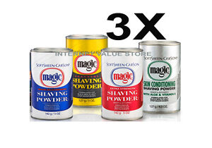 3-X-MAGIC-NO-RAZOR-HAIR-REMOVAL-SHAVING-POWDER-127GM-GREAT-VALUE-PACK