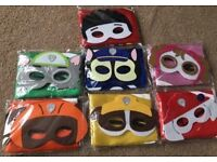 Capes and masks