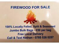 Seasoned Fire logs