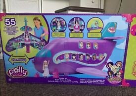 Polly pocket jumbo jet new