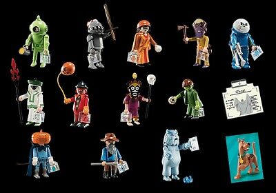 Playmobil 70287 Scooby Doo Series 1 Mystery Figures X 12 Complete Set